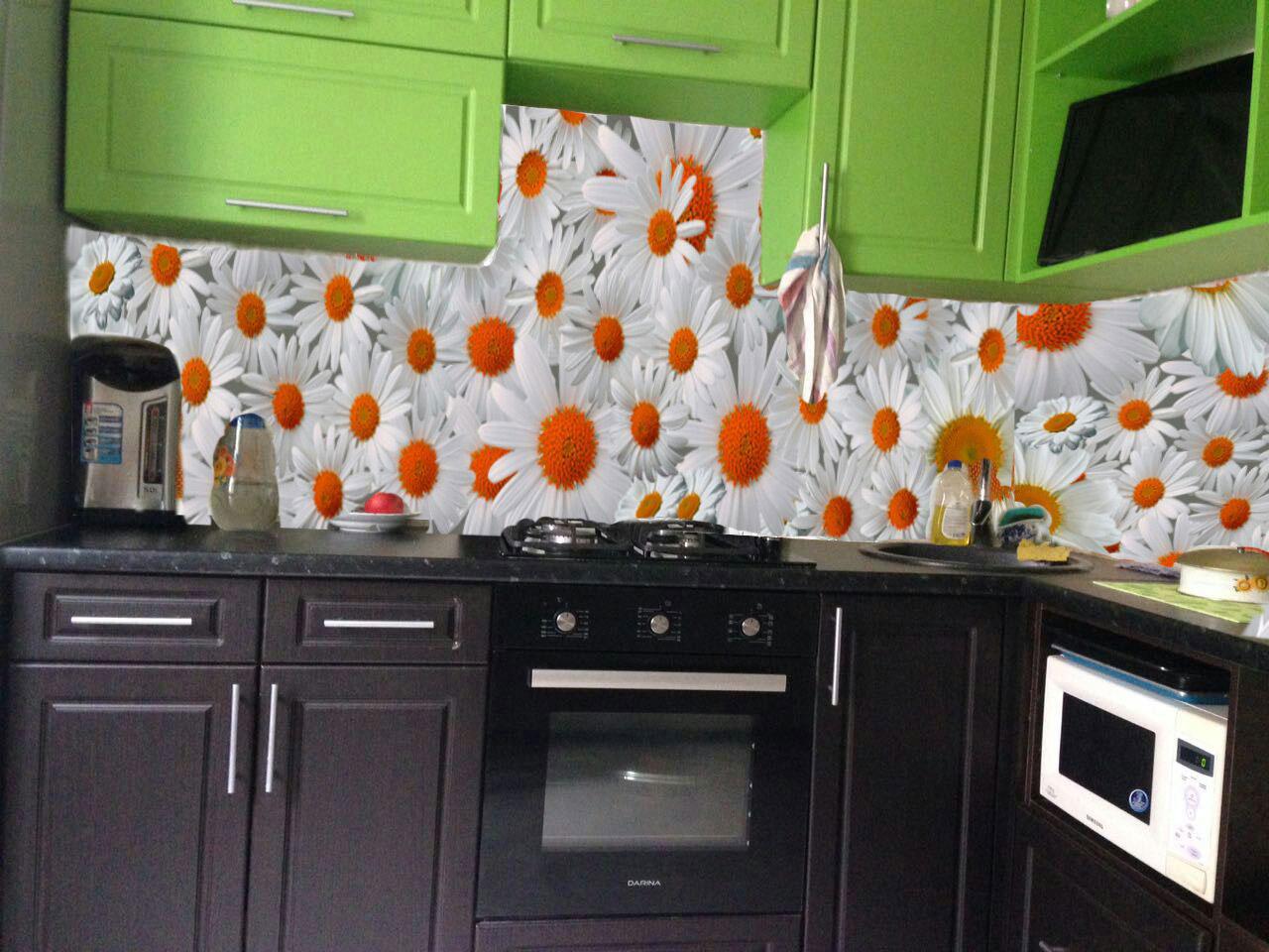 Кухонный фартук своими руками недорого