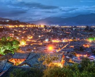 3д фотообои Города. Столицы Мира, маленькие поселения на фотообоях.