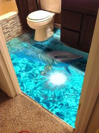 Наливной пол с 3D эффектом. Описание, Фото, Цена