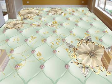 Наливной пол для спальни