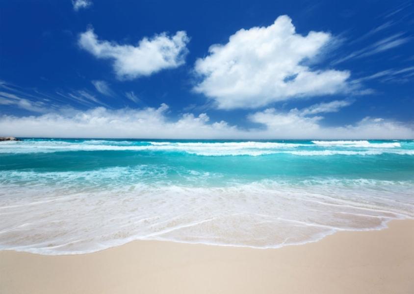 Картинка берег моря с белым песком