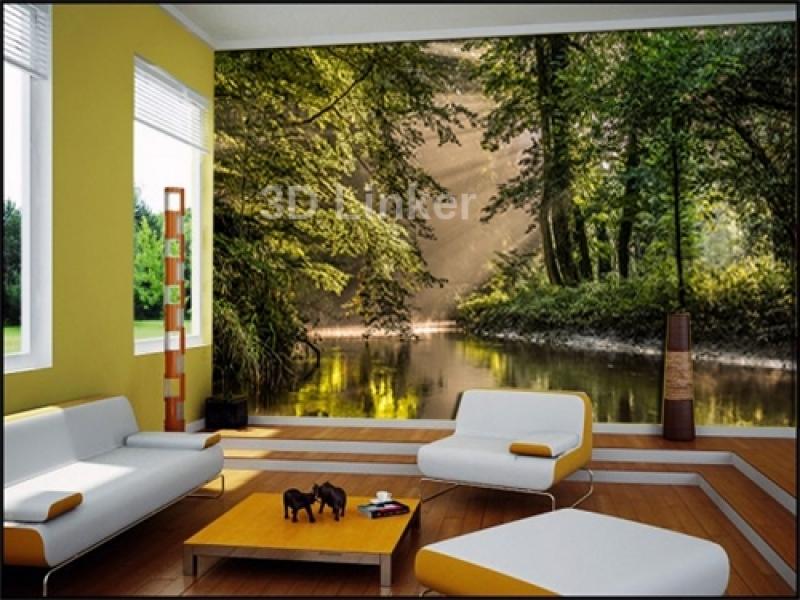"""Фотообои на стену купить """"Нидерланды, парк"""" визуализация №2"""