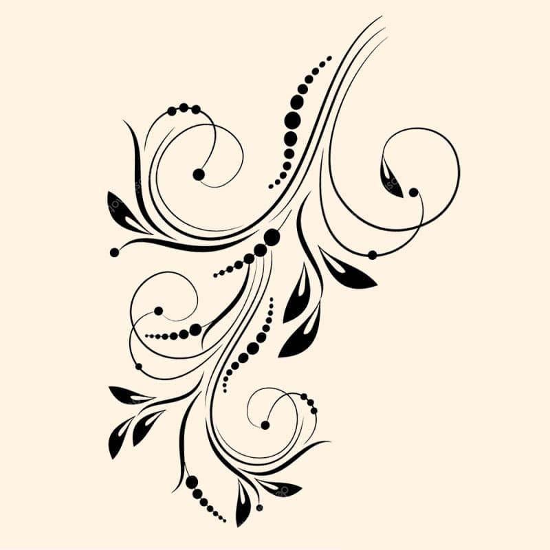 Напольное покрытие с рисунком Обои, Линолеум АБСТРАКТНЫЙ ЦВЕТОК