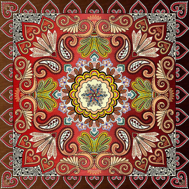 Напольное покрытие с рисунком Обои, Линолеум КОВРОВЫЙ РИСУНОК УЗОРЫ