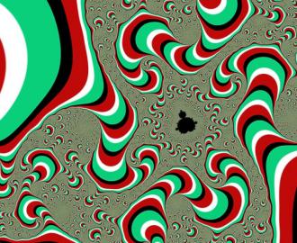 """Линолеум с необычным рисунком """"Живые гольфы, зеленый"""" купить"""