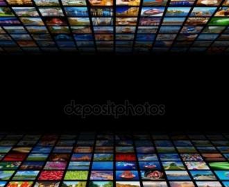 """Фотообои на стену купить """"Абстракция, коллаж картинок"""""""