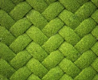 "Линолеум с рисунком ""Трава плетенка, ковер"" купить"