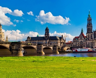"""Фотообои купить """"Германия, Дрезден"""""""