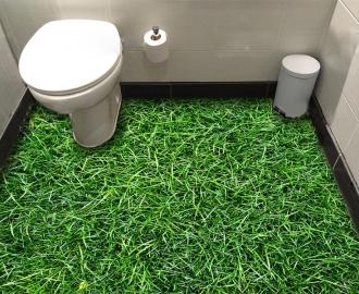 """Обои для пола в комнату """"Высокая зеленая трава"""" купить"""