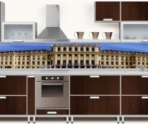 "Фартук для кухни ""Архитектура"""