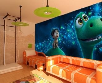 """Фотообои для детской комнаты """"Динозавр"""". Фото, цена."""