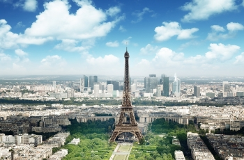 "Фотообои ""Красоты Парижа"""