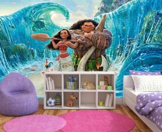 """Фотообои для детской комнаты """"Моана"""" вариант №2. Фото, цена."""