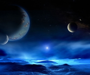 """Линолеум с рисунком """"Ночное небо"""" купить"""