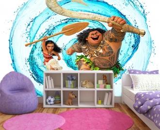 """Фотообои для детской комнаты """"Моана"""" вариант №1 . Фото, цена."""