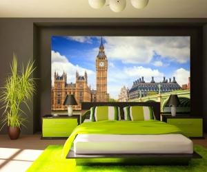 """Фотообои  """"Лондон мост река Темза"""""""