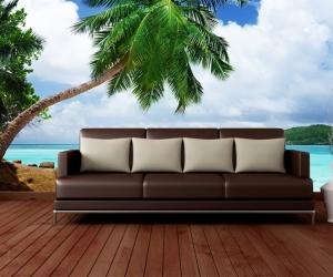 """Фотообои,""""Пляж Пальмы"""""""