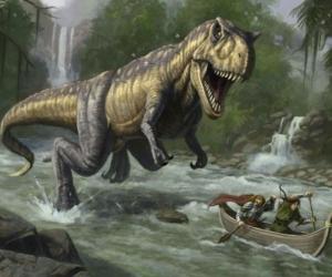 """Плитка с изображением """"Динозавр"""""""
