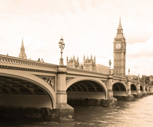 """Плитка с изображением """"Лондонский мост"""""""