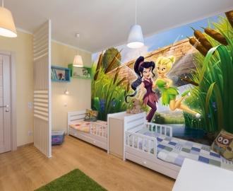 """Фотообои для детской комнаты """"Феи"""". Фото, цена."""