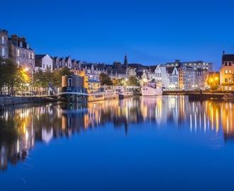 """Фотообои купить """"Скотланд-Эдинбург ночной"""""""