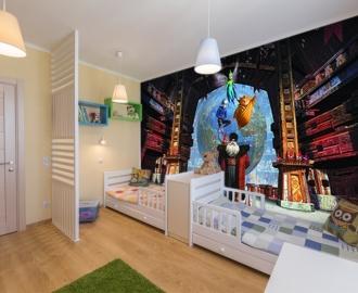 """Фотообои для детской комнаты """"Хранитель снов"""" . Фото, цена."""