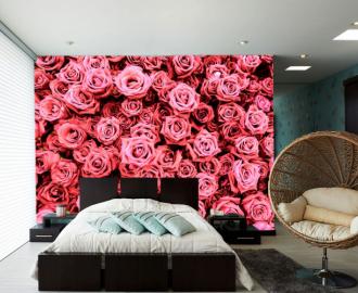 """Фотообои на стену """"Розы чайные"""""""