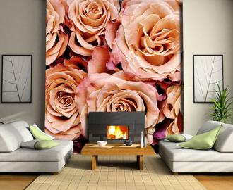 """Фотообои на стену """"Розы крупным планом"""" вариант №2"""