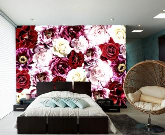"""Фотообои на стену """"Розы"""" #1"""