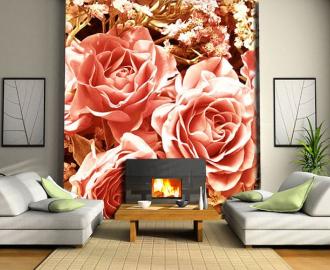 """Фотообои на стену """"Розы, цветы"""""""