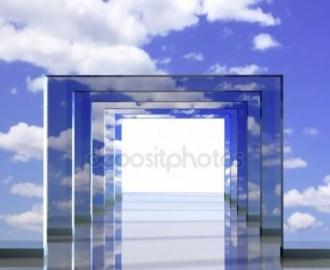 """Фотообои на стену купить """"Небо, проход"""""""