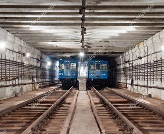"""Линолеум с рисунком """"Тоннель метро"""" купить"""