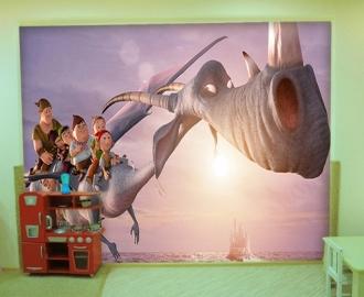 """Фотообои для детской комнаты """"7-ой Гном"""" . Фото, цена."""
