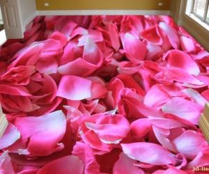 """Линолеум с рисунком """"Розы"""" купить"""