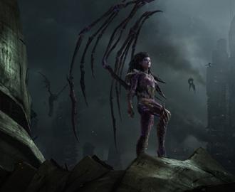 """Фотообои """"StarCraft  Сара Керриган"""""""