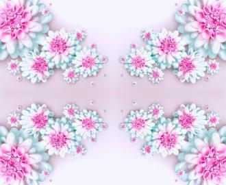 """Линолеум Напольное покрытие """"Цветы, абстракция, графика"""" купить."""