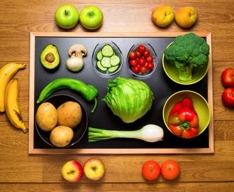 """Столешница наклейка на стол купить """"Фрукты, ягоды, овощи"""" вариант №7"""