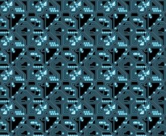 """Линолеум с рисунком """"Электронные схемы"""" купить"""