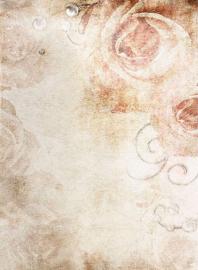 Напольное покрытие с рисунком ГРАНЖ БЕЖЕВЫЙ СВАДЕБНЫЙ ФОН