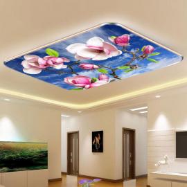 Фотообои на потолок САКУРА НЕБО ОБЛАКА