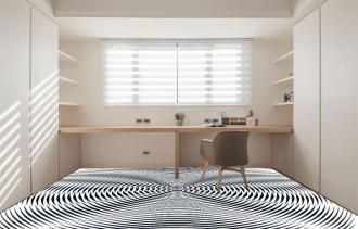 """Линолеум с необычным рисунком """"Геометрический,оптическая иллюзия, черно-белый"""" №1012 купить"""