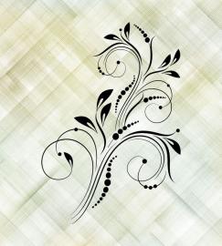 Напольное покрытие с рисунком Обои, Линолеум ШТРИХИ УЗОРЫ