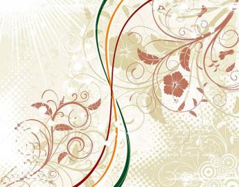 Напольное покрытие с рисунком Обои, Линолеум ЦВЕТЫ ВИНТАЖ