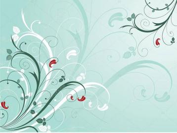 Напольное покрытие с рисунком Обои, Линолеум ЗЕЛЕНЫЙ ФОН ЦВЕТЫ