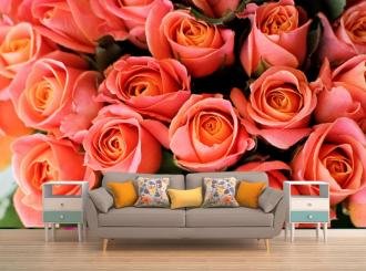 """Фотообои """"Много роз, бутоны"""""""