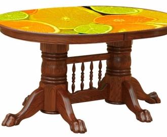 """Столешница с рисунком для стола """"Цитрусы"""""""